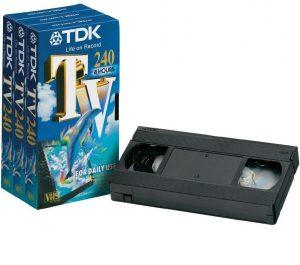 VHS banden overzetten op dvd