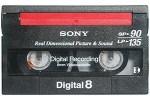 digital8 video bandje digitaliseren