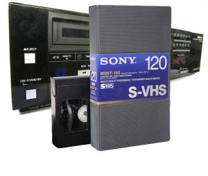 S VHS digitaliseren