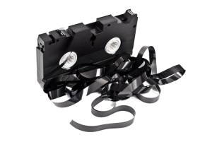Reparatie gebroken videoband