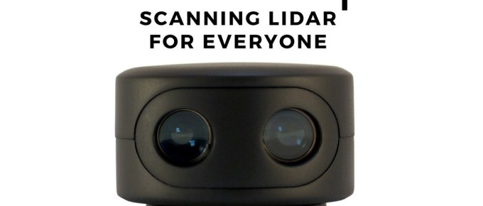 scanse Sweep Lidar 3d Scanner