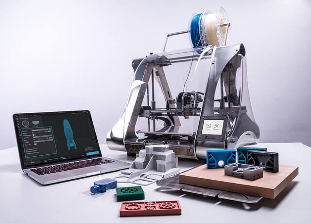 Printing the 3D CAD Design into real 3D Object