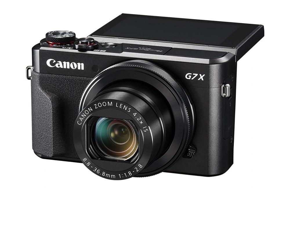 Canon PowerShot G7 X Mark II - Best flips up youtube vlogging Cam 2020