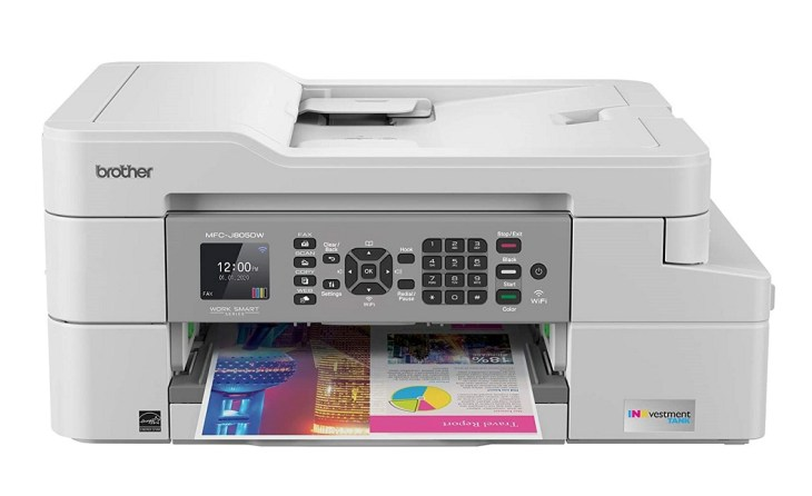 Brother MFC J805DW – Best Home Printer with Lowest Ink Cartridge
