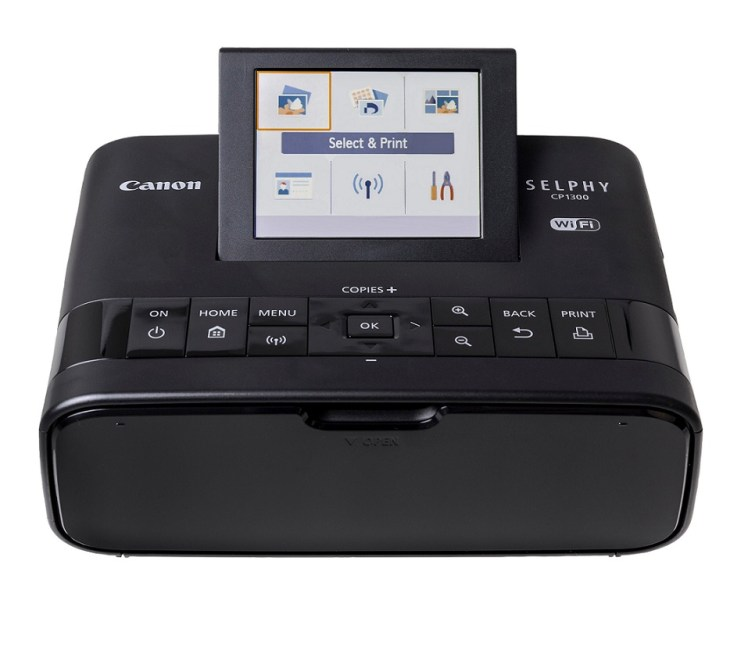 Canon SELPHY CP1300 – Best 4×6 photo printer with Wi Fi Wireless