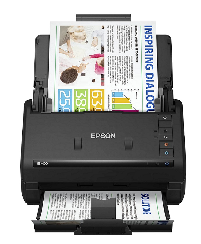 Epson WorkForce ES 400 - Best High Speed Document Scanner by Epson