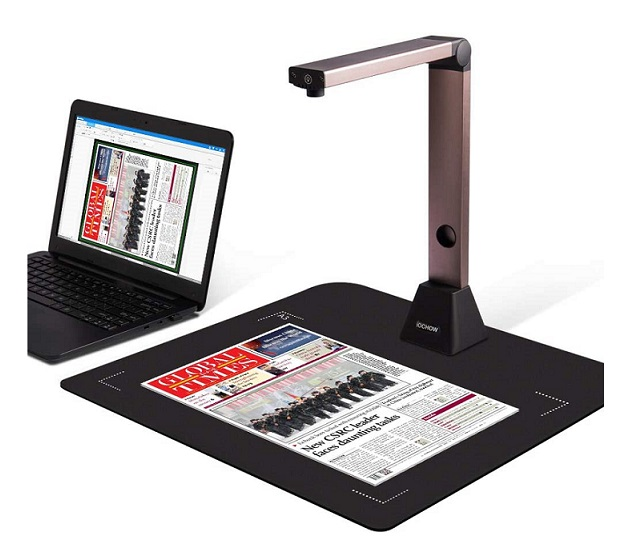 Document Camera iOCHOW S1 High Definition Portable 11 X 17 Scanner