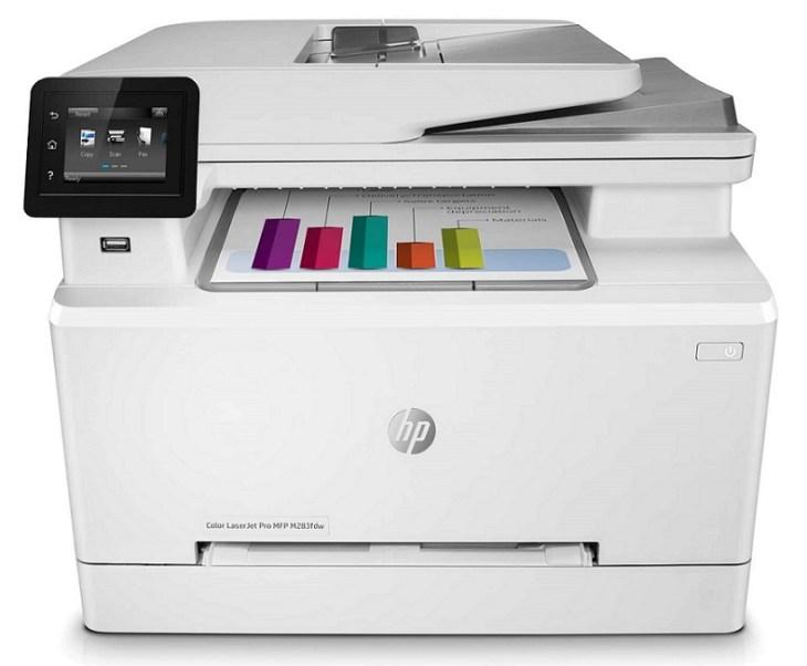 HP Color LaserJet Pro M283fdw Wireless All in One Laser Printer