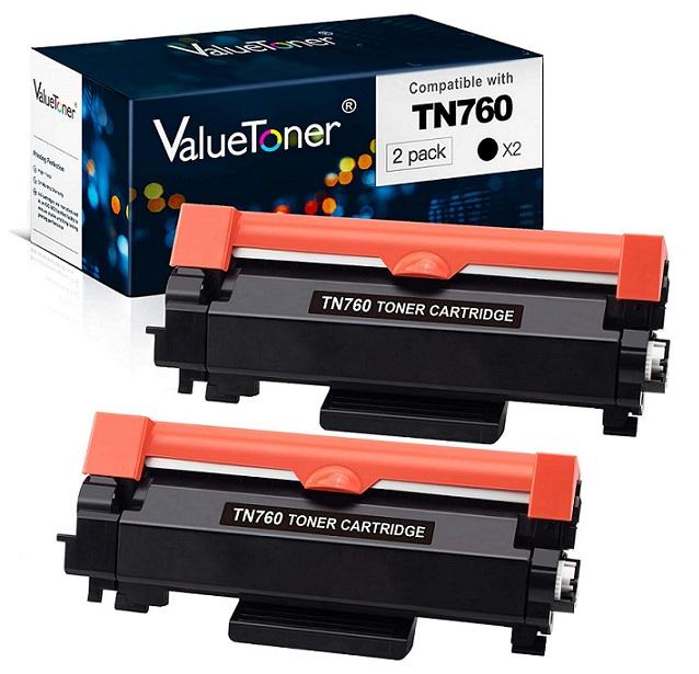 Valuetoner Compatible TN760 TN730 Toner Cartridge Replacement – Best Brother Compatible Toner Cartridge