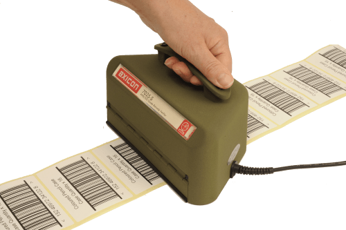 The Axicon 7025-S grades the quality of all large linear (1D) barcodes
