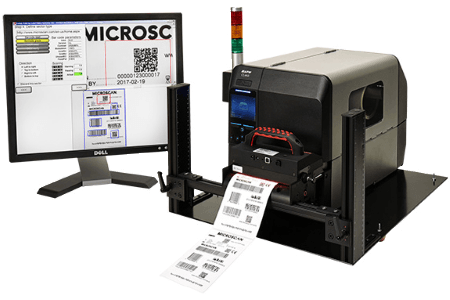LVS-7510 with Printronix T8000 Printer