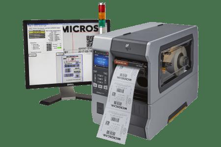 LVS-7510 with Zebra ZT610 Printer