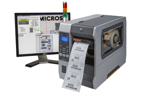 LVS-7510 label inspection with Zebra ZT610 printer
