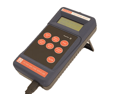 Axicon PV-1072 portable barcode verifier control unit