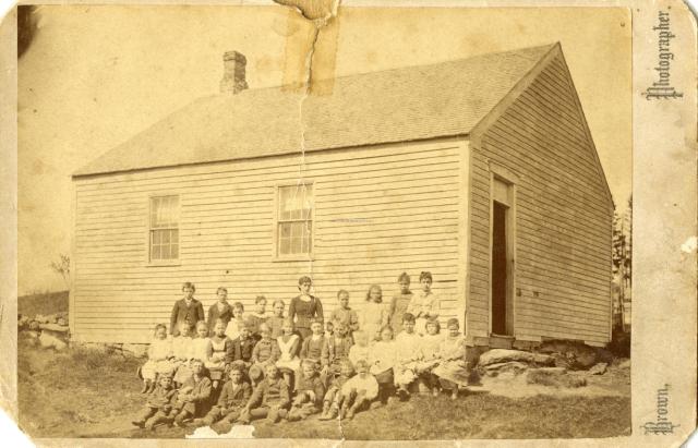 Beech Hill School, Scarborough, ca. 1879