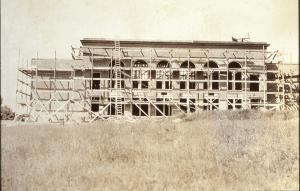 Bessey School under construction, ca. 1926