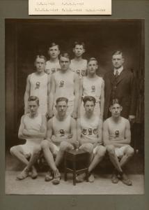 Scarborough High School Track Team, 1921