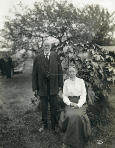 Zebulon and Ida Knight, Scarborough, ca. 1910