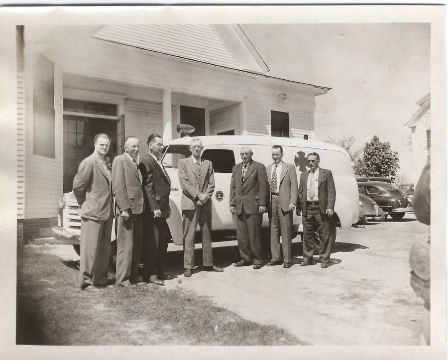 Image of Scarborough, Maine Rescue Unit, circa 1952