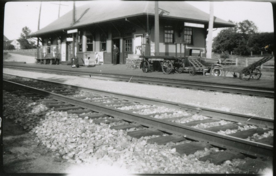 Photo of Scarborough Beach Station 1920s