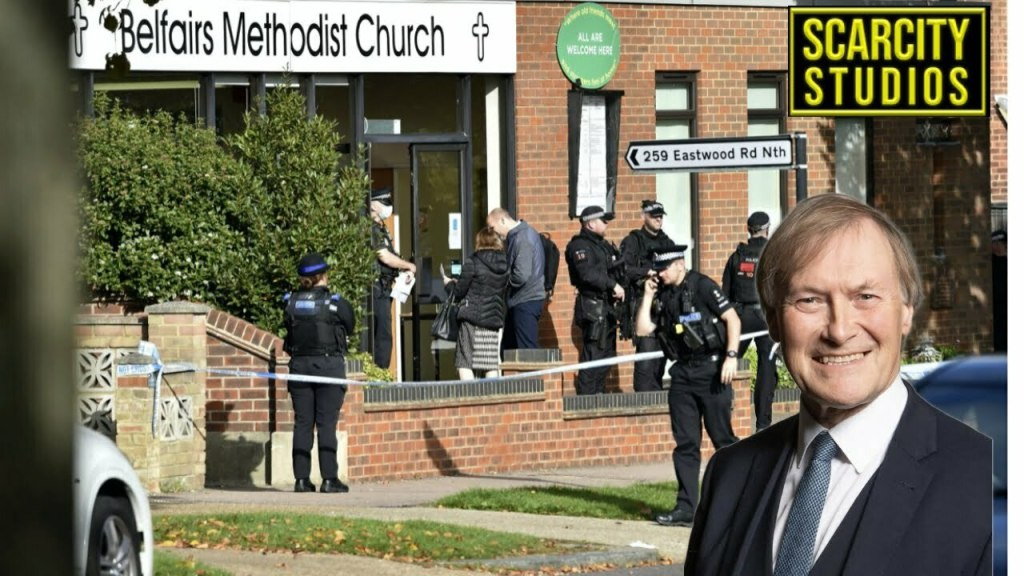 Sir David Amess stabbed to death in Essex Church