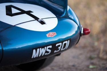 1955 Jaguar D-Type Detail Rear