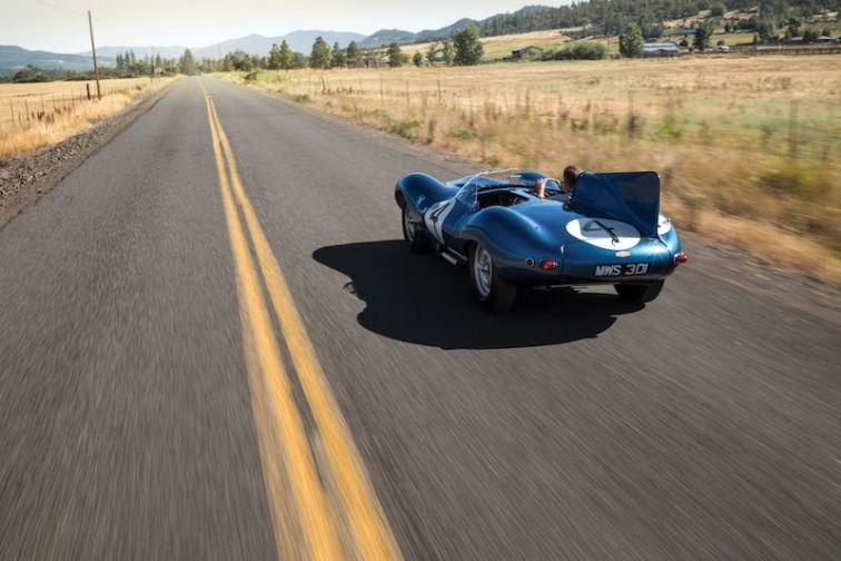 1955 Jaguar D-Type Motion