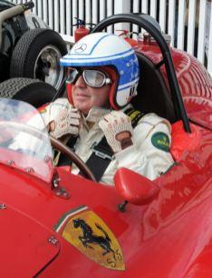Jochen Mass at Goodwood Revival 2010