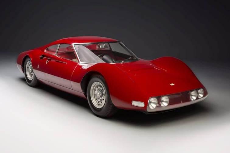 1965 Dino 206 P Berlinette Speciale by Pininfarina