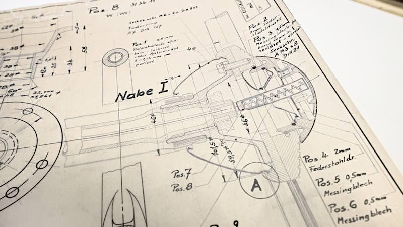 Porsche Construction Drawings