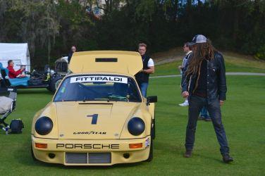 1974 Porsche IROC RSR, ex-Emerson Fittipaldi, at the Amelia Island Concours