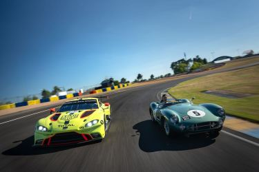 Aston Martin Vantage GTE and DBR1 (Photo: Nick Dungan / Drew Gibson Photography)