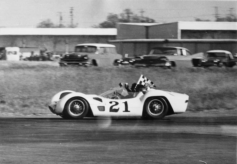 Camoradi Maserati Birdcage at the Sebring 12 Hours (credit: Archivio Maserati)