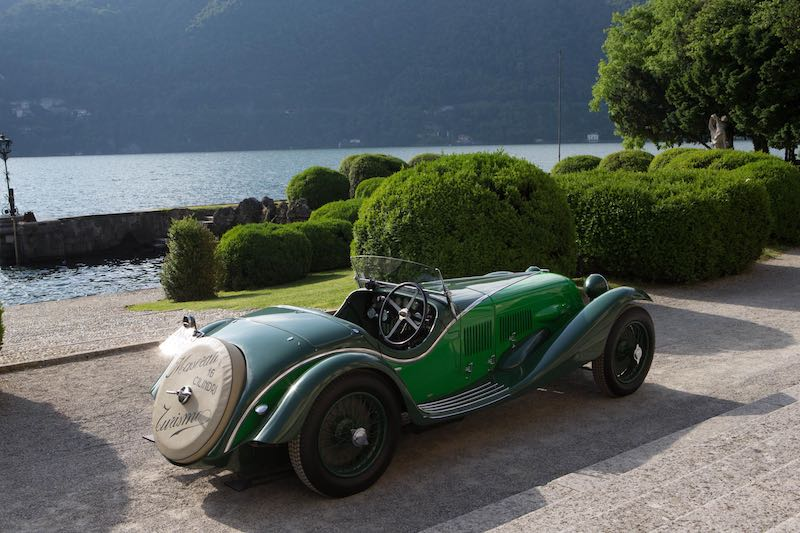 1929 Maserati Tipo V4 at the Concorso d'Eleganza Villa d'Este (photo: Wouter Melissen)