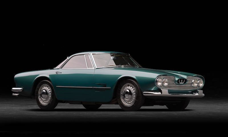 1959 Maserati 5000 GT (photo: Michael Furman)