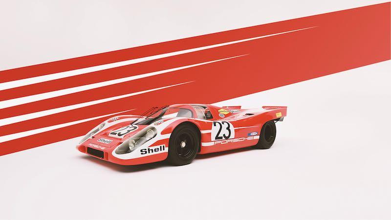 Porsche 917 in Salzburg Red