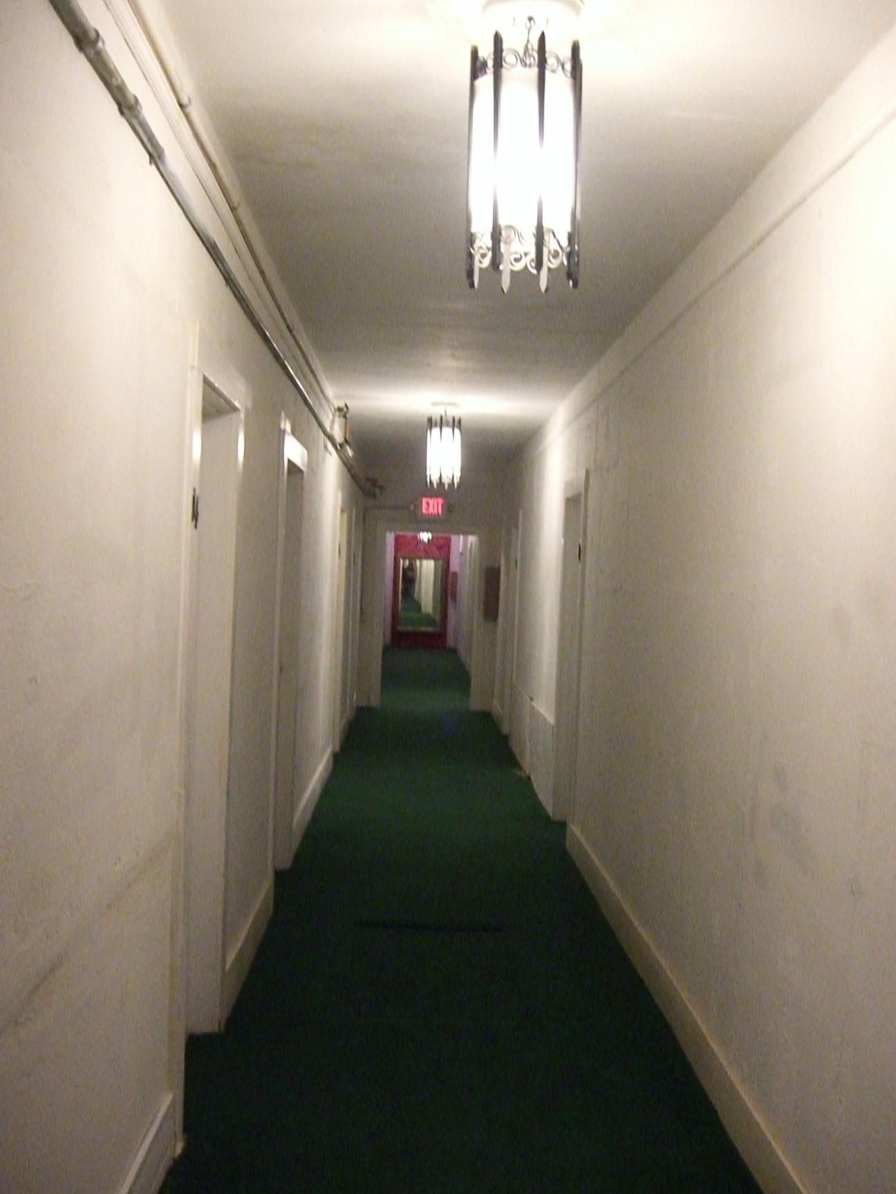 hallway at Amargosa