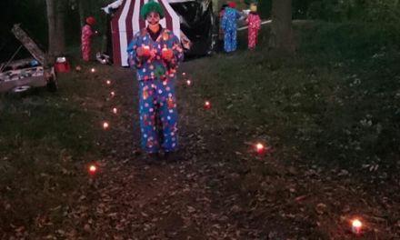 Halloween spokentocht