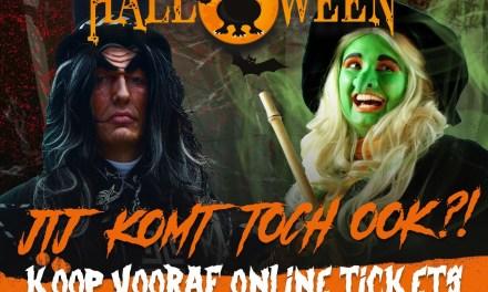 Sweet en Scary Halloween in Drouwenerzand Attractiepark