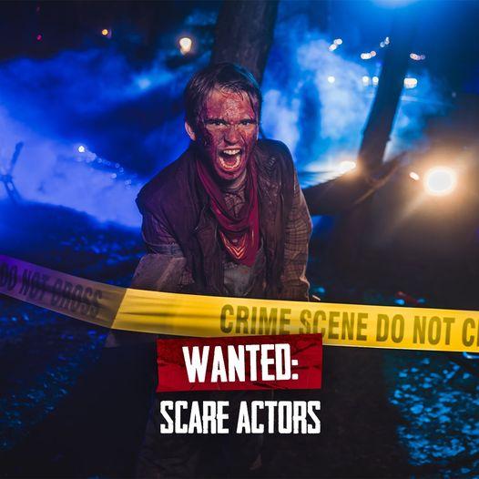 Plopsaland De Panne zoekt Scare Actors voor Scary Nights
