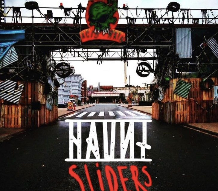 De Haunt Sliders verschijnen in Movie Park Germany