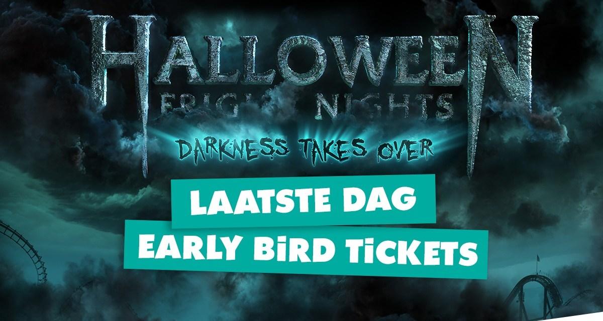Wees er snel bij! Walibi verhoogt tickets Halloween Fright Nights