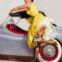 Elvgren's Skirt and Giggles