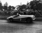 A virtuoso drive from a youngster: Stirling Moss leapt to prominence winning the 1950 TT in this XK120
