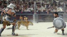 ... can pull off epic battle scenes like Gladiator