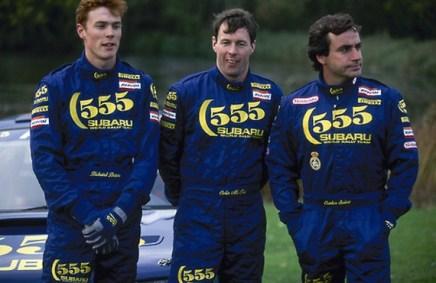 Colin McRae, 1968-2007. Richard Burns, Colin McRae and Carlos Sainz.