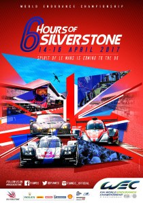 WEC Silverstone Affiche A4 BD_58e52b
