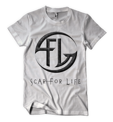 Scar For Life Logo T-shirt (white)
