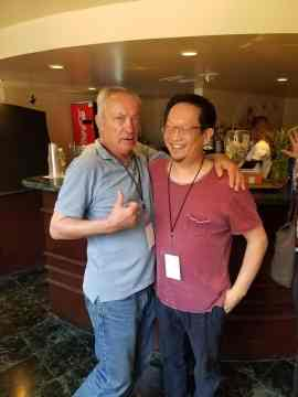 Me and Udo Kier! A legend and a gentleman.