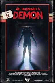 We Summoned a Demon VHS Box Cover Art